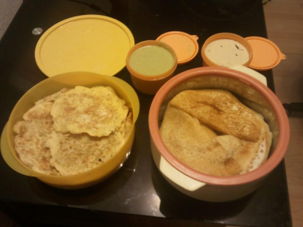 Kita Indian Breakfast Items