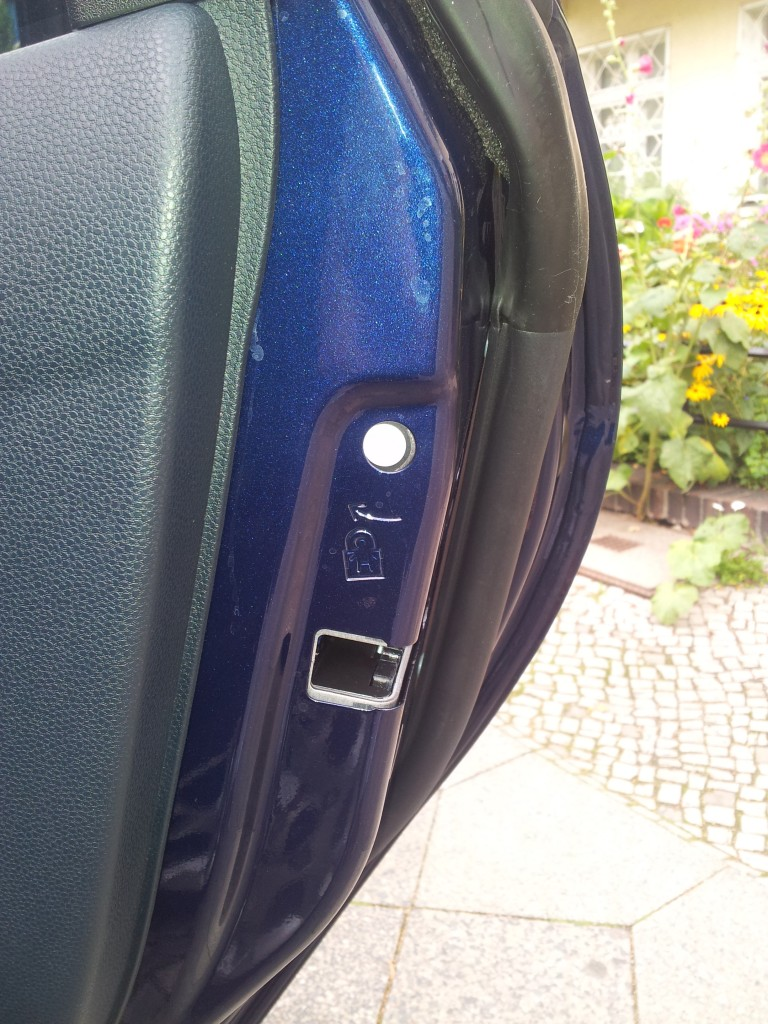 Ford Fiesta Child Lock